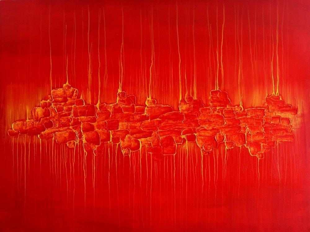 ABS044 Abstract acrylic from Paul Humphrey Art