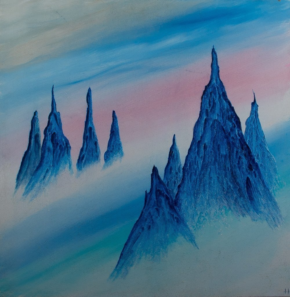 ABS046 Abstract acrylic from Paul Humphrey Art