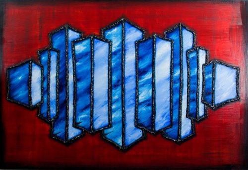 ABS049 Abstract acrylic from Paul Humphrey Art