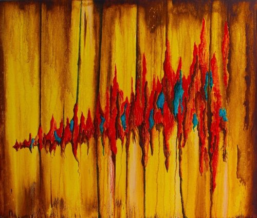 ABS054 Abstract acrylic from Paul Humphrey Art