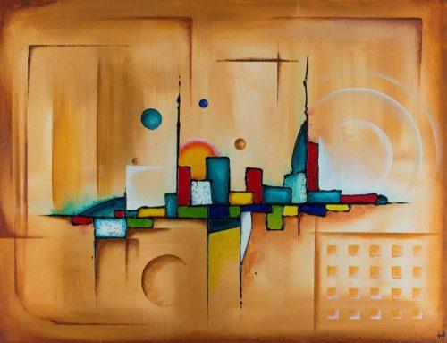 ABS055 Abstract acrylic from Paul Humphrey Art